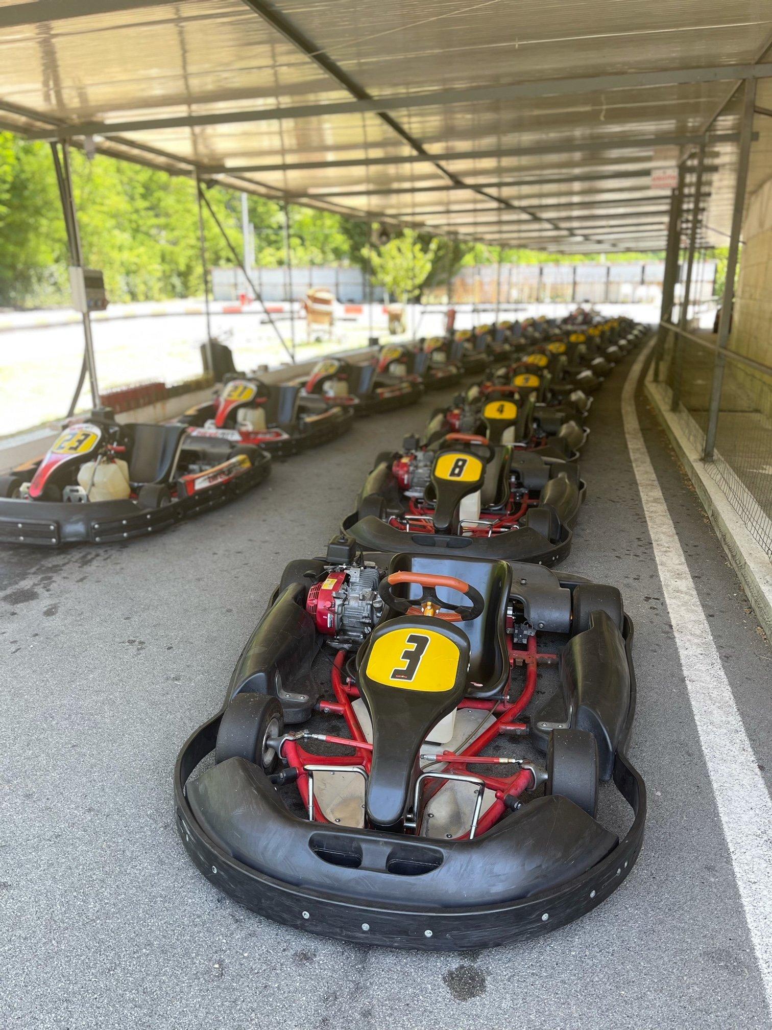 Giornata Go Kart a Carasco